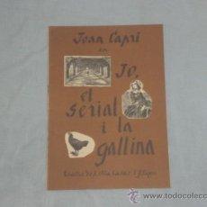Catálogos publicitários: PROGRAMA DEL TEATRO ROMEA - JOAN CAPRI EN JO, EL SERIAL I LA GALLINA -. AÑO 1967.. Lote 25688558