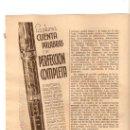 Catálogos publicitarios: RECORTE PUBLICIDAD.AÑO1935.PLUMA CUENTA PALABRAS CONKLIN.ESTILOGRAFICA.PLUMA.NOZAC.MARQUARD BALLESTA. Lote 21427217