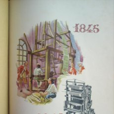 Catálogos publicitarios: CATALOGO PUBLICIDAD , FELICITACION MAQUINARIA TEXTIL , VINCENZI , ELIAS SERRAVIÑALS 1945. Lote 26062940