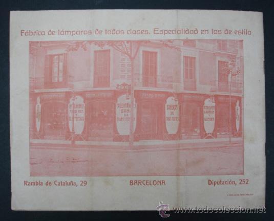 Catálogos publicitarios: PEDRO RIERA. FÁBRICA DE LÁMPARAS DE TODAS CLASES, APARATOS SANITARIOS. 1910. MUY ILUSTRADO. - Foto 12 - 22201028
