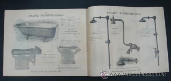 Catálogos publicitarios: PEDRO RIERA. FÁBRICA DE LÁMPARAS DE TODAS CLASES, APARATOS SANITARIOS. 1910. MUY ILUSTRADO. - Foto 11 - 22201028