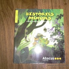 Catálogos publicitarios: CATALOGO PUBLICITARIO LIBROS INFANTILES HISTORIES MENUDES, EN CATALÁN. Lote 22727593