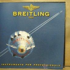Catálogos publicitarios: CATALOGO RELOJES BREITLING - CHRONOLOG 2000 - RELOJ. Lote 22785414