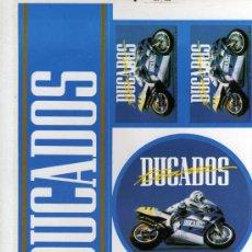 Catálogos publicitarios: HOJA CON 5 ADHESIVOS PUBLICIDAD DE DUCADOS . Lote 22897308