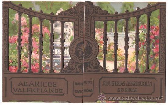 Catálogos publicitarios: PUBLICIDAD ABANICOS VALENCIANOS – INDUSTRIAS ABANIQUERAS REUNIDAS - Foto 5 - 25707820