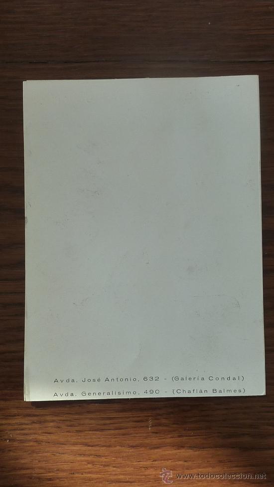 Catálogos publicitarios: Felicitacion de navidad de marcas de relojes y joyeria Girod. 1956. Longines, Cyma, vacheron... - Foto 3 - 26019437