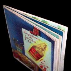 Catálogos publicitarios: CATÁLOGO EXPOSICIÓN DE FÓRMULAS DEL LICOR 43, RECETAS, POSTRES...DIEGO ZAMORA CONESA. ORIGINAL. Lote 27500318
