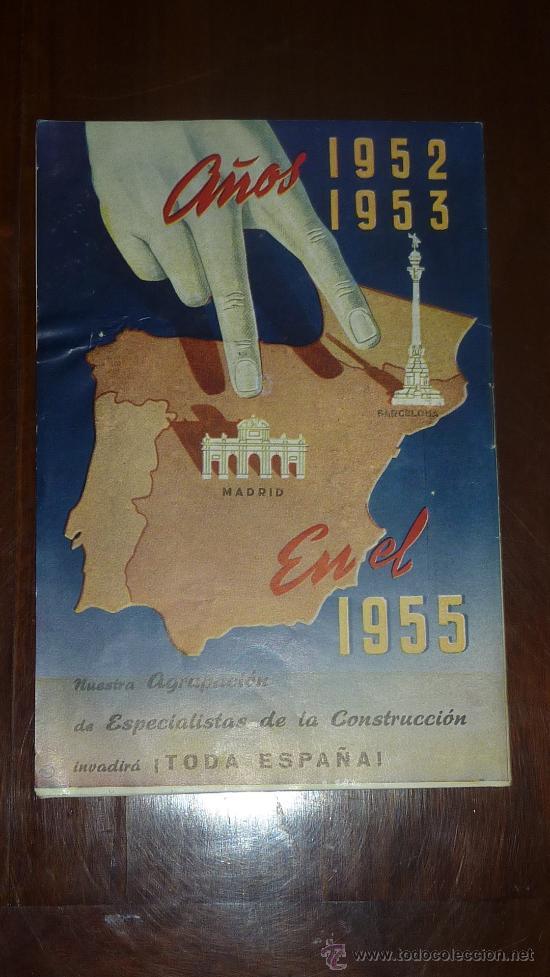 Catálogos publicitarios: antiguo catalogo publicitario de construccion. Capital y trabajo. - Foto 4 - 24565694