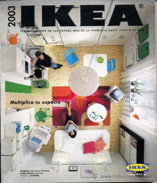 Catalogo ikea 2003 mobiliario hogar peso a comprar cat logos publicitarios antiguos en - Catalogo ikea 2008 ...