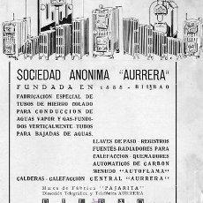 Catálogos publicitarios: PUBLICIDAD ANUNCIO DE LA SOCIEDAD ANONIMA