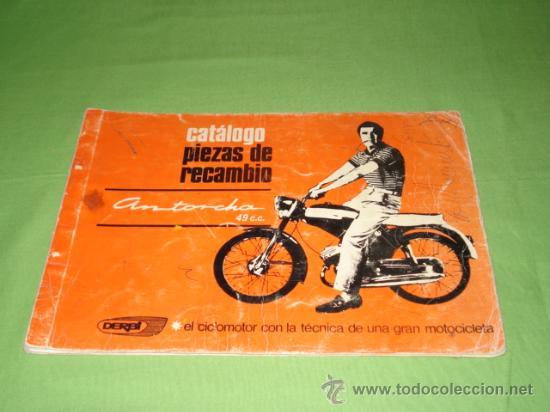 Catalogo piezas de recambio derbi antorcha 49 comprar for Catalogo derbi