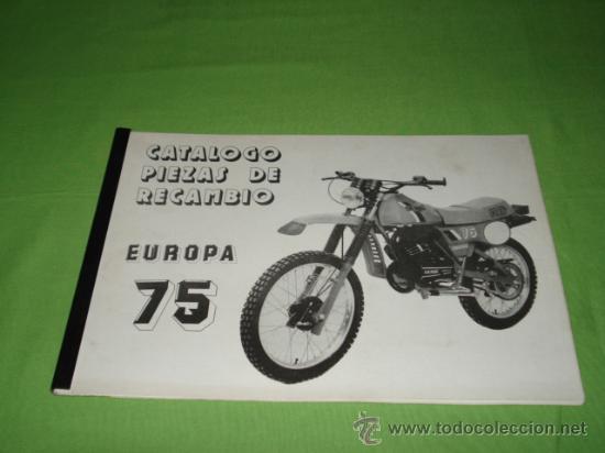 Catalogo despiece derbi europa 75 rd medidas 3 comprar for Catalogo derbi