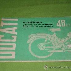 Catálogos publicitarios: CATALOGO DUCATI 48, DE 90 PAG. ORIGINAL.. Lote 28206120