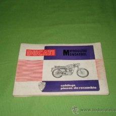 Catálogos publicitarios: CATALOGO ORIGINAL DUCATI, DESPIECE 125 TURISMO, 125 SPORT, 175 TURISMO, 200 E, 250 DE LUXE.. Lote 28206176