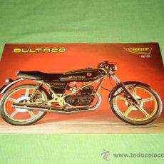 Catálogos publicitarios: CATALOGO TIPO FOLLETO A DOS CARAS DE BULTACO STREAKER NEGRA 74 Y 125, ORIGINAL BULTACO.. Lote 28206297