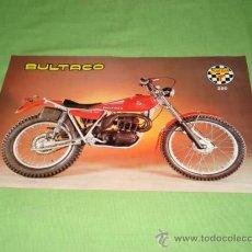 Catálogos publicitarios: CATALOGO TIPO FOLLETO DE BULTACO SHERPA 250, MOD 198.. Lote 28206305