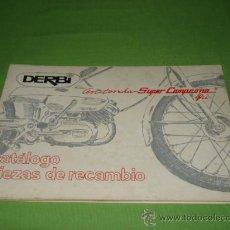 Catálogos publicitarios: CATALOGO PIEZAS DE RECAMBIO DERBI ANTORCHA SUPER CAMPEONA 49. Lote 28206713