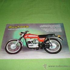 Catálogos publicitarios: CATALOGO MANUAL BULTACO MERCURIO 175 GT ART 17534001. Lote 28656381