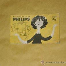 Catálogos publicitarios: CATALOGO DE MANO DE ELECTRODOMESTICOS PHILIPS DEL AÑO 1963 . Lote 27237572