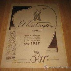 Catálogos publicitarios - EL WASHINGTON HOTEL HOJA DE REVISTA 1957 - 26532519