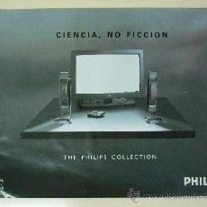 Catálogos publicitarios: CATALOGO PHILIPS ELECTRÓNICA Y TELEVISIÓN - AÑO 1991 - 19 PÁGINAS. Lote 27426417