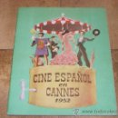 Catálogos publicitarios: CATALOGO CINE ESPAÑOL EN CANNES 1952 50 PAGINAS CON FERNANDO REY O CARMEN SEVILLA UNICO !!!!!!. Lote 27703642