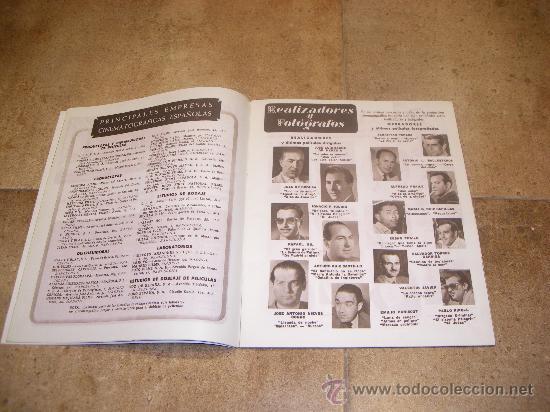 Catálogos publicitarios: CATALOGO CINE ESPAÑOL EN CANNES 1952 50 PAGINAS CON FERNANDO REY O CARMEN SEVILLA UNICO !!!!!! - Foto 4 - 27703642