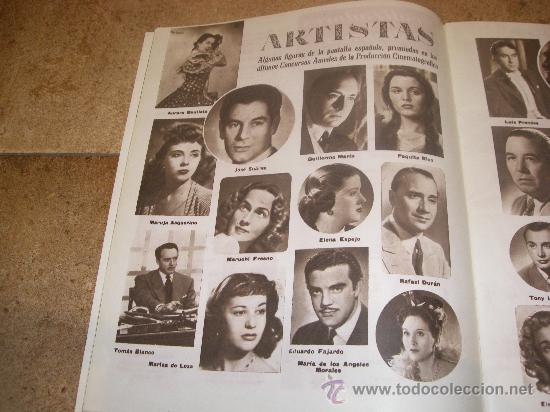 Catálogos publicitarios: CATALOGO CINE ESPAÑOL EN CANNES 1952 50 PAGINAS CON FERNANDO REY O CARMEN SEVILLA UNICO !!!!!! - Foto 5 - 27703642