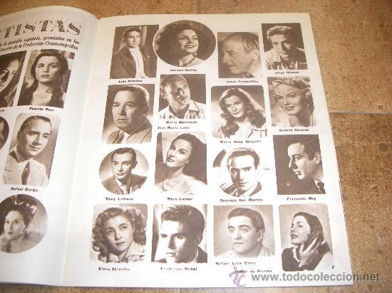 Catálogos publicitarios: CATALOGO CINE ESPAÑOL EN CANNES 1952 50 PAGINAS CON FERNANDO REY O CARMEN SEVILLA UNICO !!!!!! - Foto 6 - 27703642