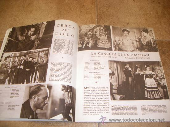 Catálogos publicitarios: CATALOGO CINE ESPAÑOL EN CANNES 1952 50 PAGINAS CON FERNANDO REY O CARMEN SEVILLA UNICO !!!!!! - Foto 9 - 27703642