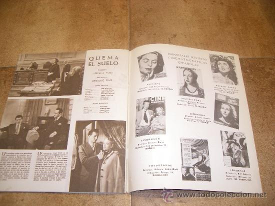 Catálogos publicitarios: CATALOGO CINE ESPAÑOL EN CANNES 1952 50 PAGINAS CON FERNANDO REY O CARMEN SEVILLA UNICO !!!!!! - Foto 14 - 27703642