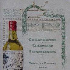 Catálogos publicitarios: VINOS R. LOPEZ HEREDIA - HARO LA RIOJA. Lote 27794673