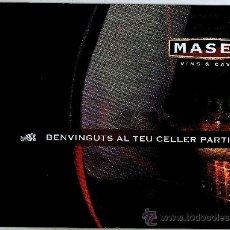 Catálogos publicitarios: CATÁLOGO DE VINOS Y CAVAS MASSET · 16 PÁGINAS EN CATALÁN. Lote 28036704