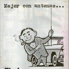 Catálogos publicitarios: CATALOGO DE RADIOS, ANTENAS Y TRANSISTORES. Lote 28046120