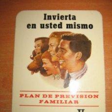 Catálogos publicitarios: PUBLICIDAD BANCO DE VIZCAYA CLASIFICACION DE AÑADAS DE LOS VINOS DE RIOJA ESTACION DE VITICULTURA Y. Lote 28272330