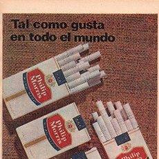 Catálogos publicitarios: PUBLICIDAD ANTIGUA. CIGARRILLOS. PHILIP MORRIS. 1965.. Lote 28319524