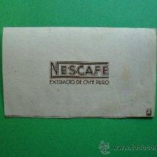 Catálogos publicitarios: NESCAFÉ EXTRACTO DE CAFÉ PURO. Lote 28431186