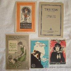 Catálogos publicitarios: CINCO CATÁLOGOS PUBLICITARIOS. Lote 28475307