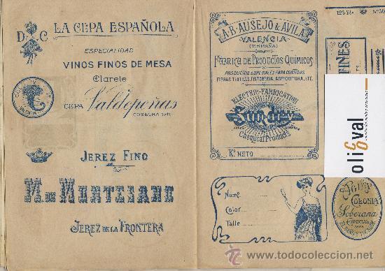 Catálogos publicitarios: Artes graficas-Muestrario-1922- etiquetas para rotular escaparates f,guillen carbonell valencia 32 p - Foto 4 - 28629706