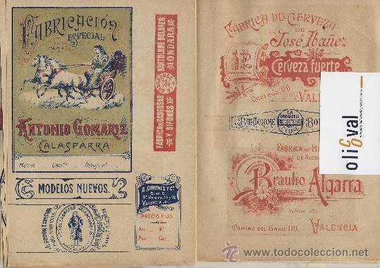 Catálogos publicitarios: Artes graficas-Muestrario-1922- etiquetas para rotular escaparates f,guillen carbonell valencia 32 p - Foto 7 - 28629706