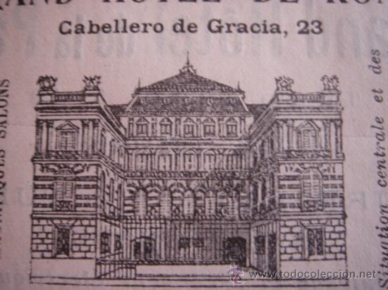 Catálogos publicitarios: HOJA PUBLICITARIA DEL HOTEL METROPOL Y ROMA DE MADRID, PARIS, 1909, GUÍA JOANNE. - Foto 3 - 28627872
