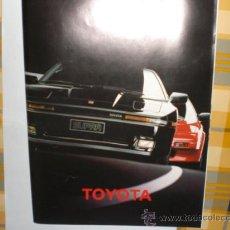 Catálogos publicitarios: TOYOTA CATALOGO. Lote 28770994