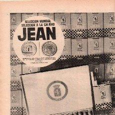 Catálogos publicitarios: PUBLICIDAD ANTIGUA. PUROS. JEAN. 1968.. Lote 28911744