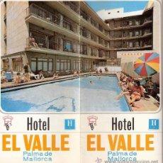 Catálogos publicitarios: HOTEL EL VALLE. PALMA DE MALLORCA. FOLLETO PUBLICITARIO. 1970.. Lote 29018386