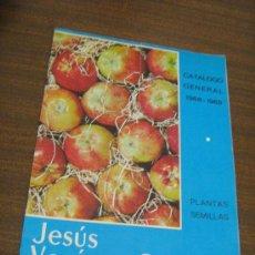 Catálogos publicitarios: CATALOGO GENERAL 1968-69 JESUS VERÓN Y CIA - PLANTAS, SEMILLAS - CALATAYUD ZARAGOZA. Lote 29270158