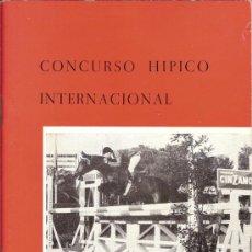 Catálogos publicitarios: PROGRAMA CONCURSO HIPICO INTERNACIONAL BARCELONA DEL 24 AL 29 DE JUNIO DE 1964. Lote 29308617