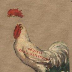 Catálogos publicitarios - Publicidad Granja Vila Reus. Broiler Vila x Waithequer. Defectuoso. - 29556090