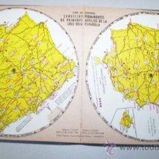 Catálogos publicitarios: DISCO CALCULO DISTANCIAS CAPITALES ESPAÑOLAS EN FUNDA PLASTICA PUBLICIDAD MERCH , 14 X 14 CMS. Lote 30246195