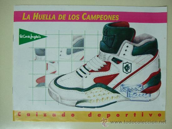 huge discount 2372e 9ddf5 CATALOGO EL CORTE INGLÉS CALZADO DEPORTIVO - AÑO 1992 - NIKE , REEBOK,  ADIDAS, KELME, PUMA, CONVERSE