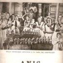 Catálogos publicitarios: RECORTE PRENSA.AÑOS 40 PUBLICIDAD ANIS BOMBITA LICOR RUTE CORDOBA BEBIDAS. Lote 30186257